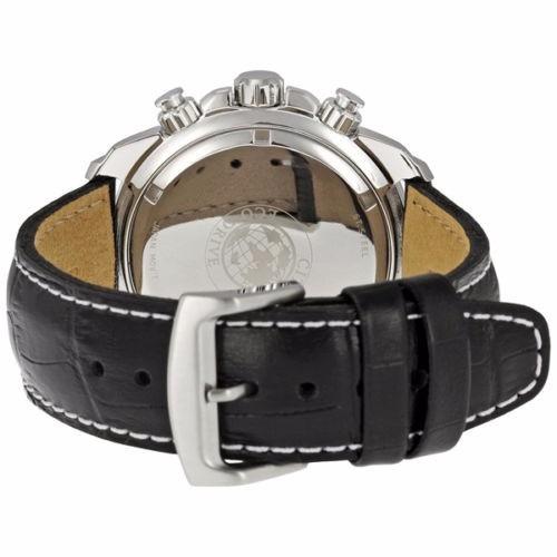 reloj citizen eco-drive acero inox piel negra at0810-12e
