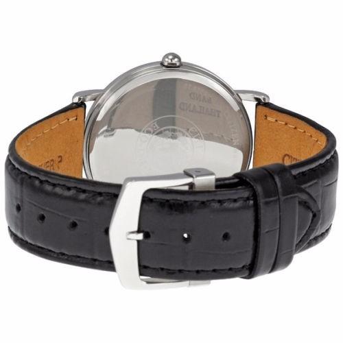 reloj citizen eco-drive acero inox piel negra bm8240-03e