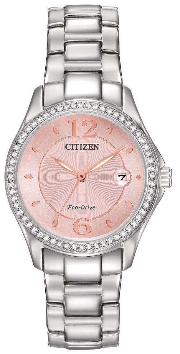 961a468ebb8cf Reloj Citizen Eco-drive Acero Rosa Mujer Fe1140-86x -   5