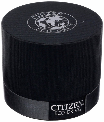 reloj citizen eco-drive atómico crono piel café at4006-06x
