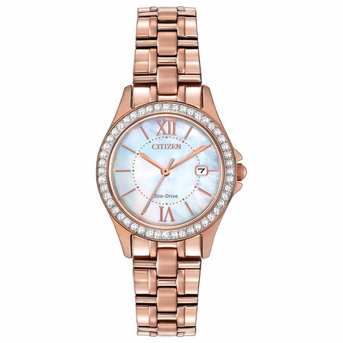 reloj citizen eco-drive crystal ew1843-52d