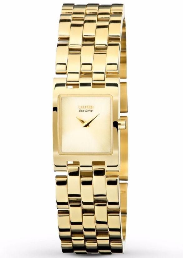 Reloj Citizen Eco Drive Jolie Dorado Mujer Ex1302 56p