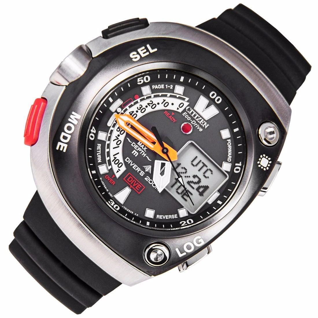 acaa4a247a2d reloj citizen eco-drive promaster aqualand divers jv0020-04e. Cargando zoom.