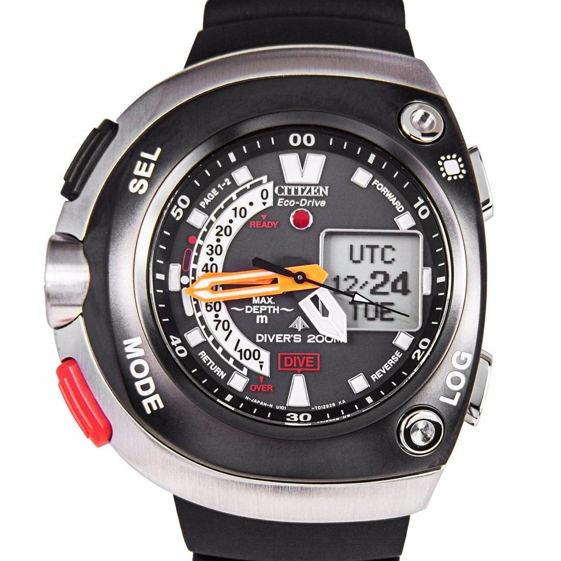 acb81256c4f reloj citizen eco-drive promaster aqualand divers jv0020-04e. Cargando zoom.