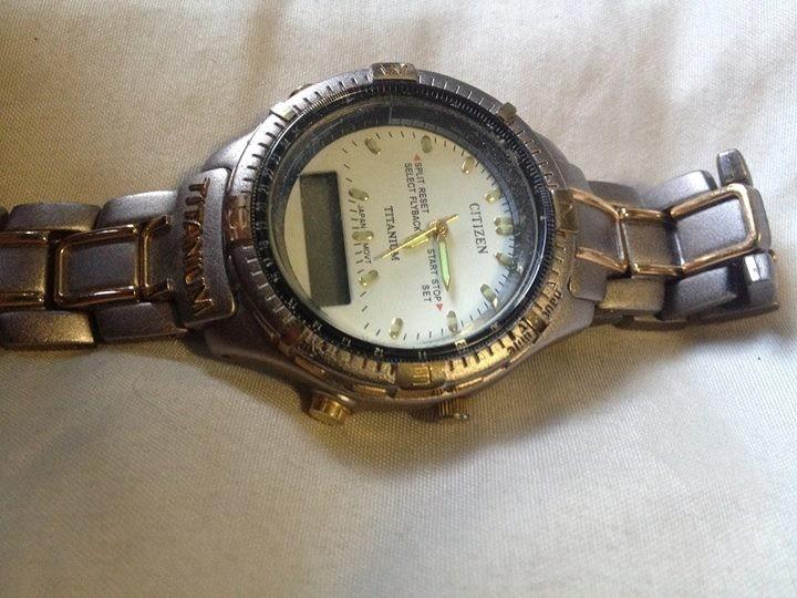 Reloj Citizen Eco Drive Titanium -   1 0d15c82289