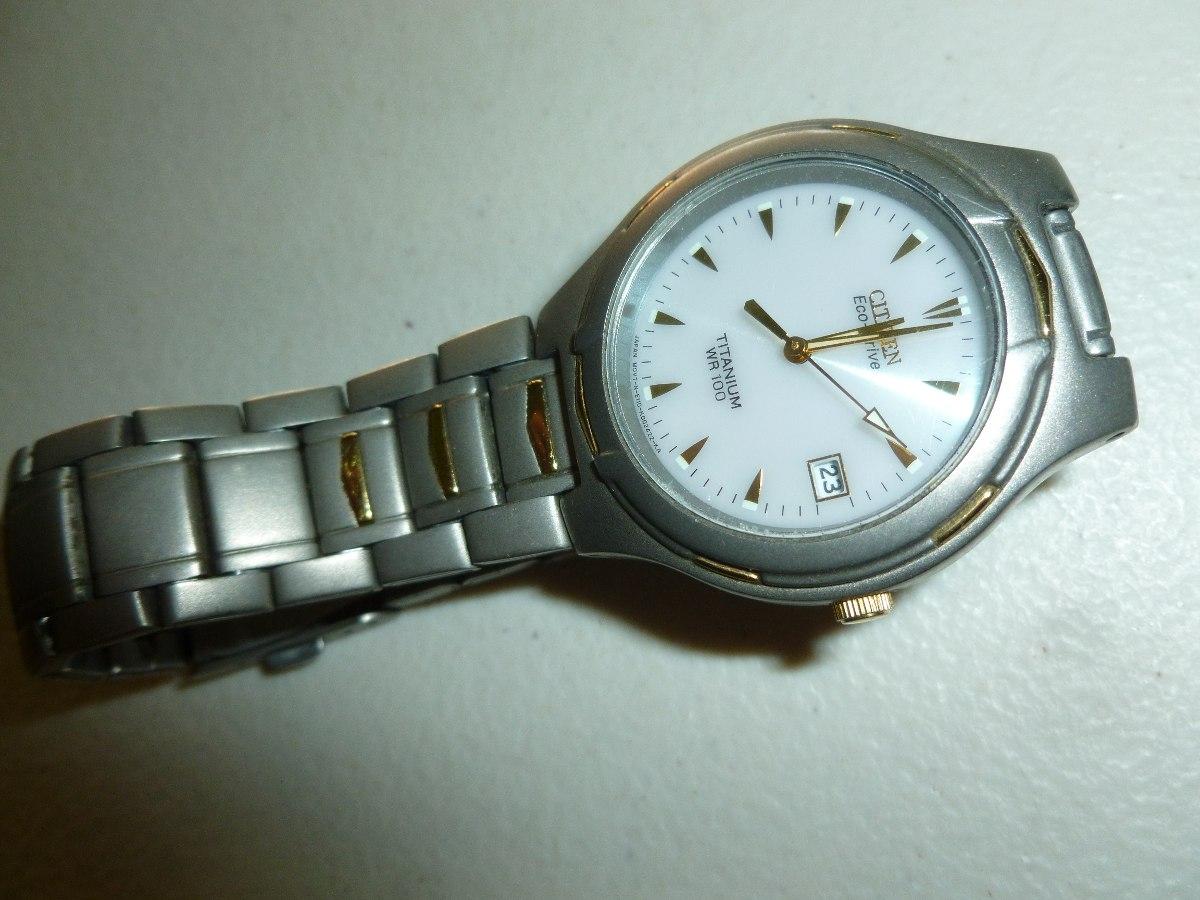 reloj citizen eco drive titanium w r100. Cargando zoom. 075151210d