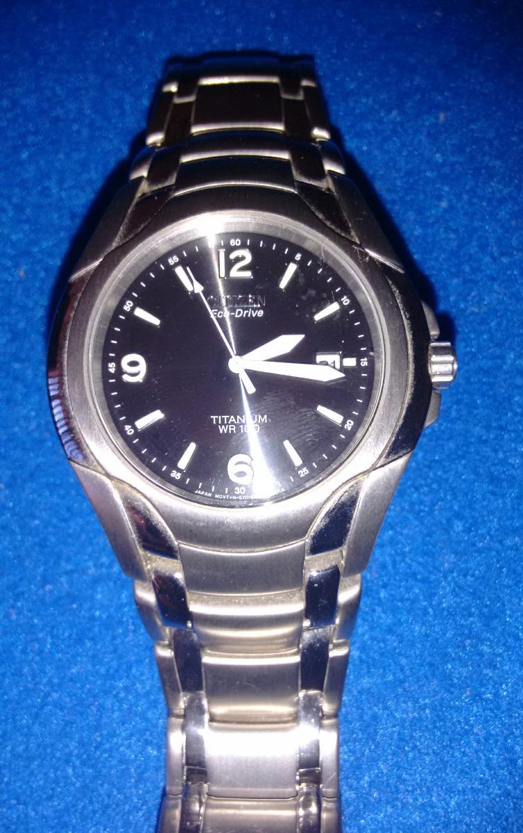 a9e94c0d21e9 reloj citizen eco drive titanium wr100 - caballeros. Cargando zoom.