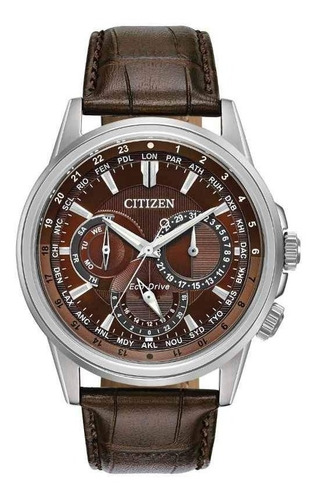 reloj citizen  ecodrive 61065 chocolate