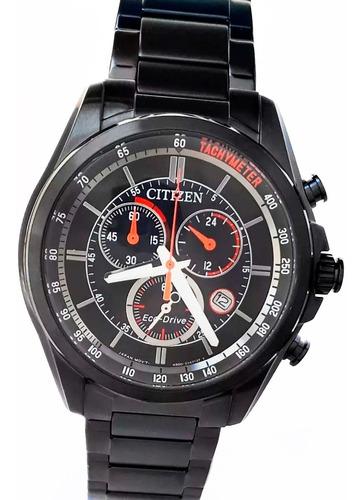 reloj citizen ecodrive at213687e cronografo acero pvd 100m