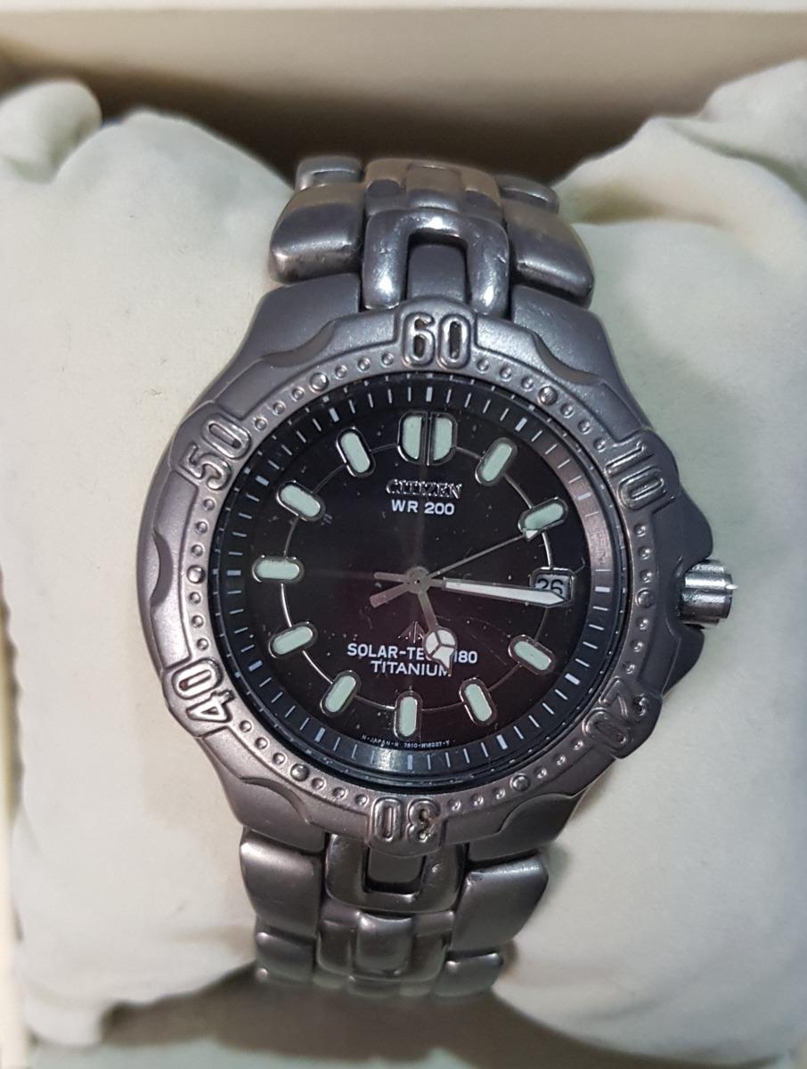 8874fc97d495 reloj citizen ecodrive solar-tech titanium de caballero. Cargando zoom.