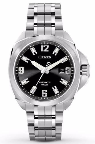 reloj citizen grand touring automatico  negro nb0070-57e