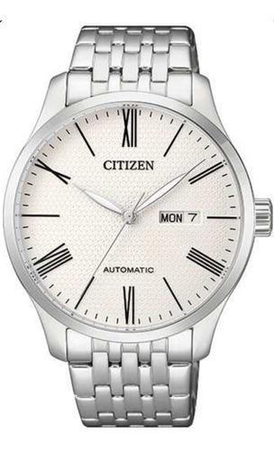reloj citizen nh8350-59a automatico acero wr50 oficial jr