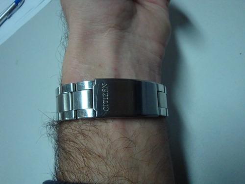 reloj citizen oxy cronograph inox impecable