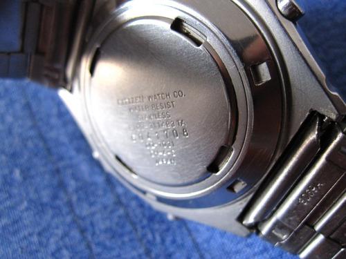 reloj citizen. para arbitro de futbol. correa original.