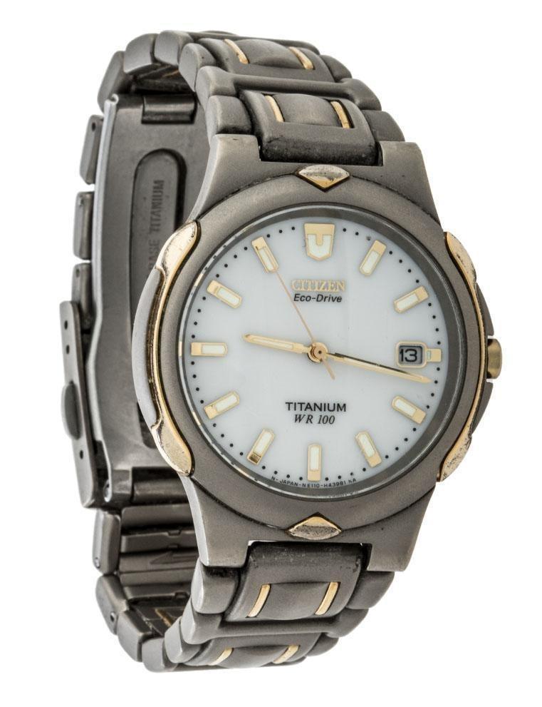 ddb0276f2262 reloj citizen para caballero modelo eco drive titanium. Cargando zoom.