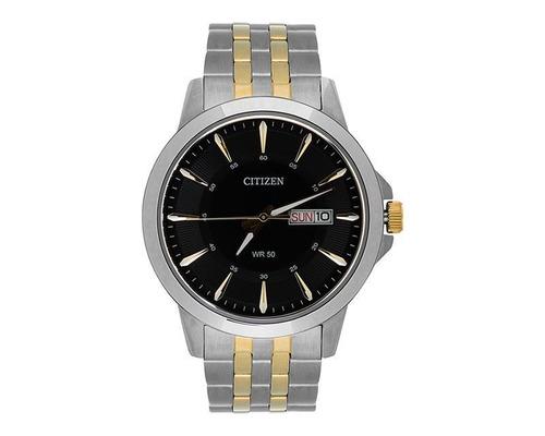 reloj citizen plateado pm-7138813
