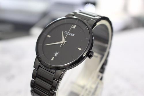 reloj citizen quartz bi5017-50e *watchsalas*caballero negro