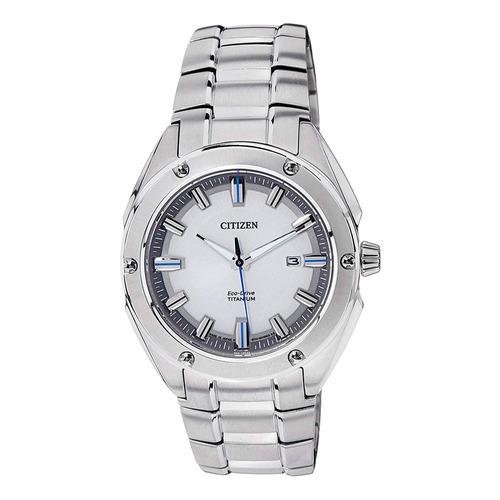 reloj citizen super titanium eco-drive bm713058a hombre