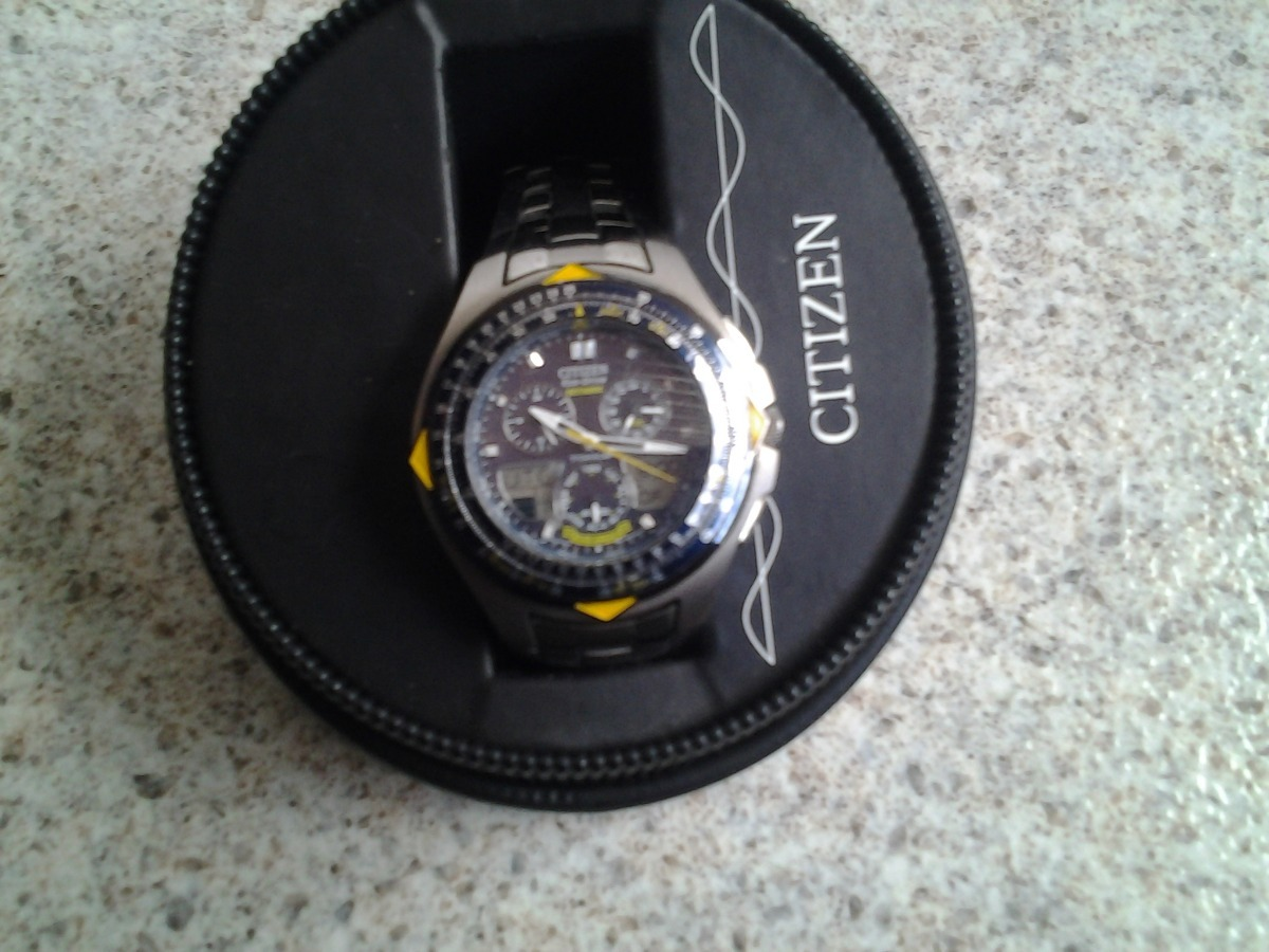 5113dc4da5f reloj citizen titanio para hombre jr3090-58m de colección. Cargando zoom.