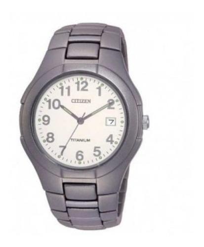 reloj citizen titanium bk153063b hombre agente oficial