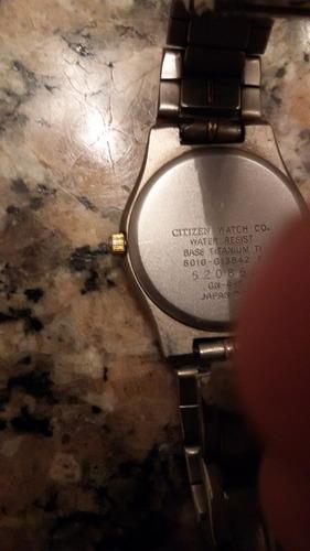reloj citizen titanium dama japones.