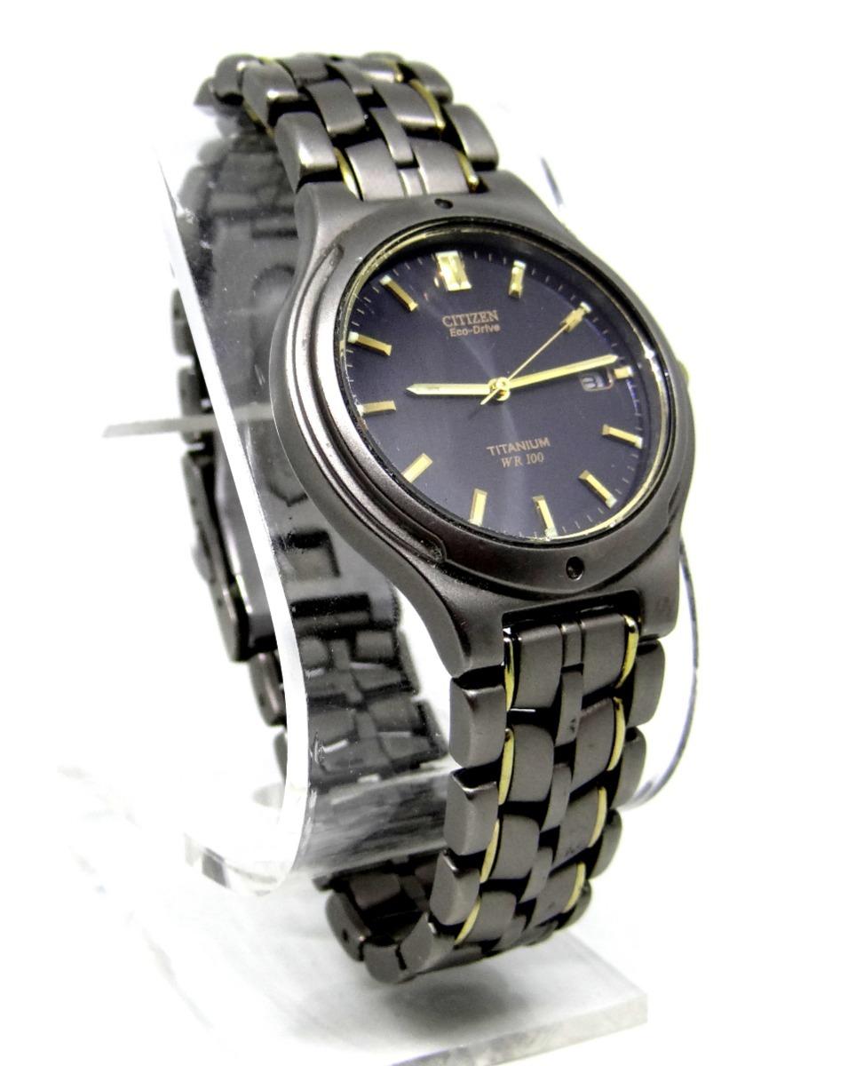 f96143103ae9 reloj citizen titanium eco drive  2350 caballero caratula ng. Cargando zoom.
