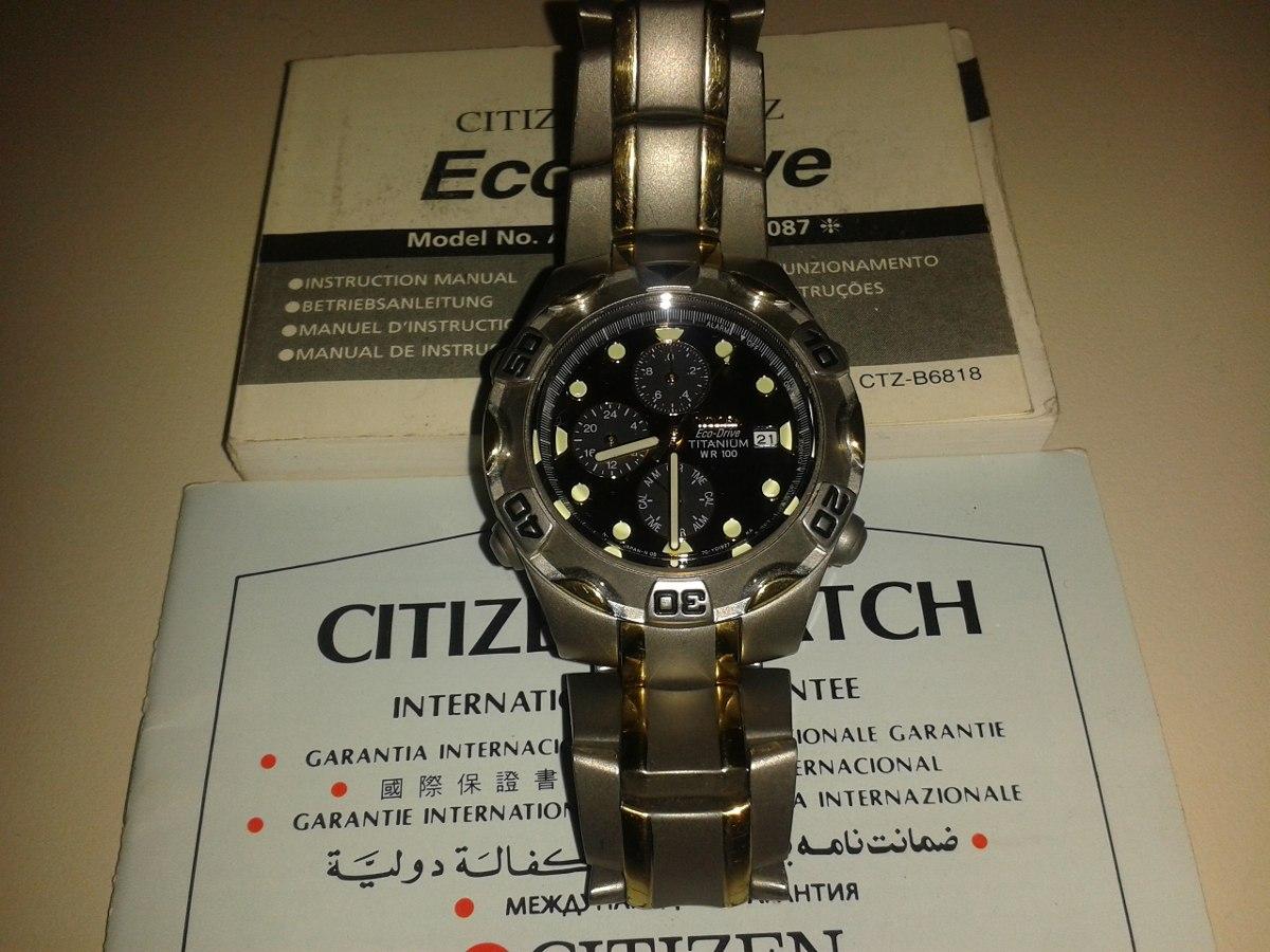 5a812faf68ad reloj citizen titanium eco drive sapphire zafiro. Cargando zoom.