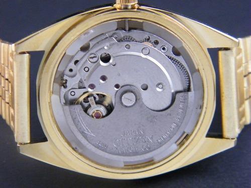 reloj citizen vintage  automático para  hombre