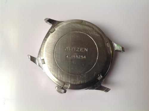 reloj citizen vintage cuerda. servicio reciente retro