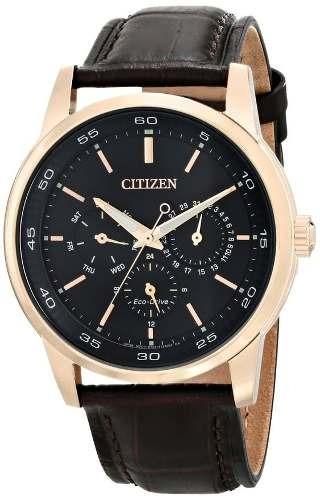 reloj citizen wcz120 marrón