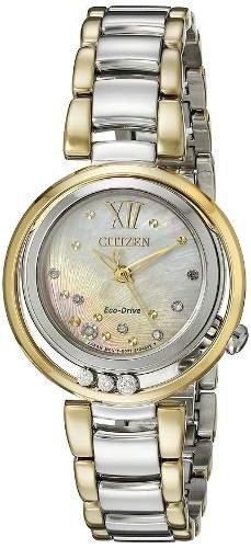 reloj citizen  wcz308 plateado