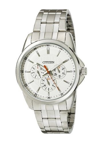 reloj citizen wcz348 plateado