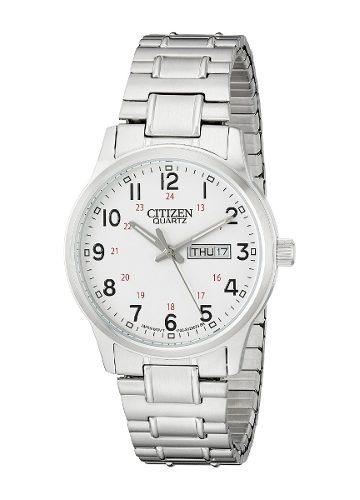 reloj citizen wcz580 plateado