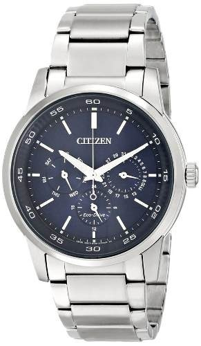 reloj citizen wcz706 plateado