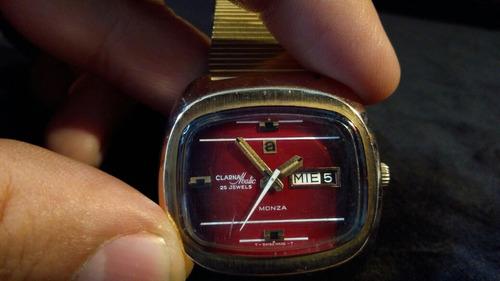 reloj clarnamatic automatico formula 1 monza  vintaje