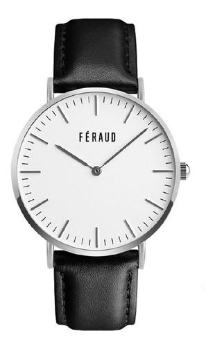 reloj clasico cuero minimalista hombre feraud f5510sl
