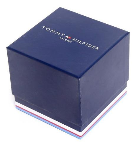 reloj clásico de cuero tommy hilfiger  unisex 1791585