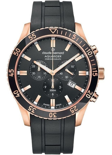 reloj claude bernard aquarider 1022337rncanir | agente of.