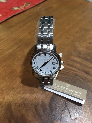 reloj claude bernard, mujer, suizo, nuevo.