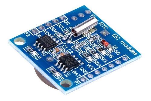 reloj clock tiny rtc ds1307 eeprom 24c32 arduino