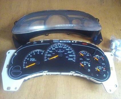 Trailblazer Reloj Impala Silverado Cheyenne Cluster BrdWCexo