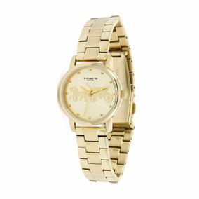 9577e0cb2ce5 Reloj Coach Mujer Dorado en Mercado Libre México