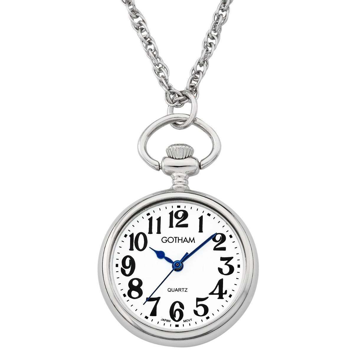 2f42b38a8044 reloj colgante de mujer de gotham con esfera abierta y ca. Cargando zoom.