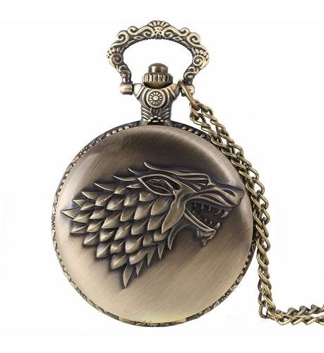 reloj collar juego de tronos game of thrones stark targaryen