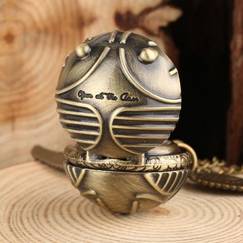reloj collar snitch me abro al cierre harry potter colección