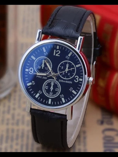 reloj color negro