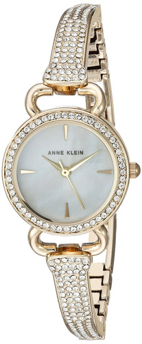 reloj con brazalete amatista de cristal swarovski acentuado