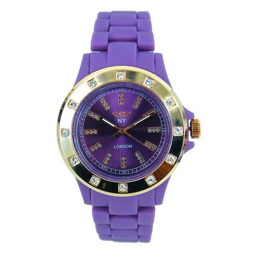 reloj con cristales, ocean heart 11n-13-44