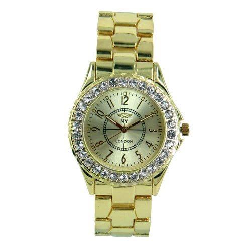 reloj con cristales, ocean heart d12-13-77g