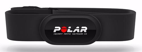 reloj con monitor de ritmo cardiaco polar ft7 negro